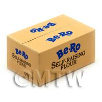 Dolls House Miniature Bero Blue Shop Stock Box