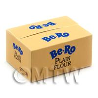 Dolls House Miniature Miniature Bero Plain Flour Shop Stock Box