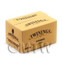 Dolls House Miniature Twinings Jasmine Tea Shop Stock Box