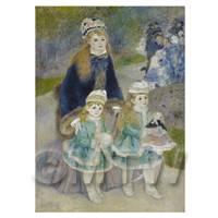 Pierre Auguste Renoir Painting The Promenade