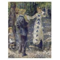 Pierre Auguste Renoir Painting Woman On A Swing