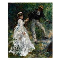 Pierre Auguste Renoir Painting A Walk In The Country