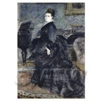 Pierre Auguste Renoir Painting Portrait of Madame Georges Hartmann