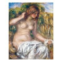 Pierre Auguste Renoir Painting Woman By Spring