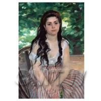 Pierre Auguste Renoir Painting The Bohemian