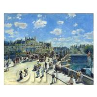 Pierre Auguste Renoir Painting Pont Neuf Paris
