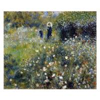 Pierre Auguste Renoir Painting Woman With A Parasol