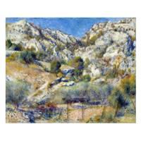 Pierre Auguste Renoir Painting - Rocky Crags At Rochers A L Estaque