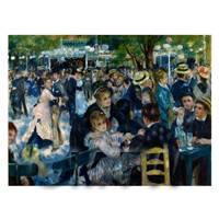 Pierre Auguste Renoir Painting Dance at Le Moulin de la Galette