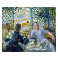 Pierre Auguste Renoir Painting The Rowers Lunch