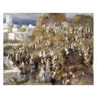 Pierre Auguste Renoir Painting The Mosque
