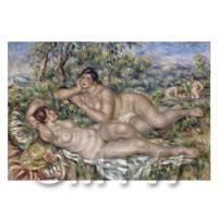 Pierre Auguste Renoir Painting The Bathers