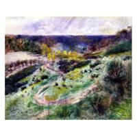 Pierre Auguste Renoir Painting Road At Wargemont