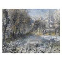 Pierre Auguste Renoir Painting Snow Covered Landscape