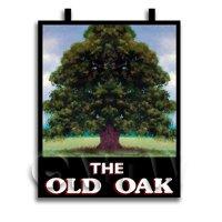 Dolls House Miniature Pub / Tavern Sign - The Old Oak