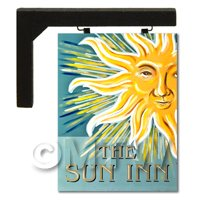Wall Mounted Dolls House Pub / Tavern Sign - The Sun Inn