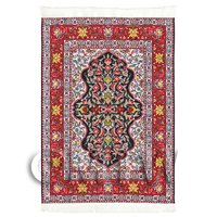 Dolls House Medium Rectangular 18th Century Carpet / Rug (18NMR11)