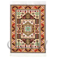 Dolls House Medium Rectangular 18th Century Carpet / Rug (18NMR10)