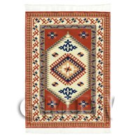 Dolls House Medium Rectangular 18th Century Carpet / Rug (18NMR07)