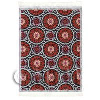 Dolls House Art Deco Small Rectangular Carpet / Rug (ADNSR25)