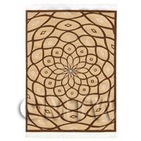 Dolls House Art Deco Medium Rectangular Carpet / Rug (ADNMR09)