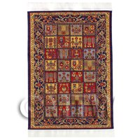 Dolls House Medium Rectangular 18th Century Rug (18NMR05)