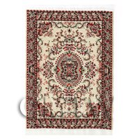 Dolls House Small Rectangular Victorian Rug (VCNSR01)