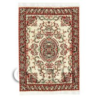 Dolls House Large, Rectangular Victorian Carpet / Rug (vclr01)