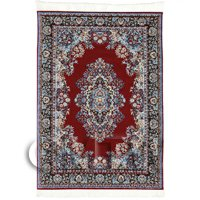 Dolls House Medium Rectangular Victorian Carpet / Rug (VCNMR02)