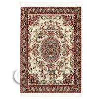 Dolls House Medium Rectangular Victorian Carpet / Rug (VCNMR01)