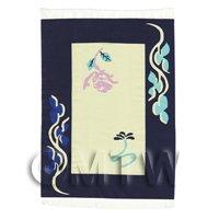 Dolls House Art Deco Medium Rectangular Carpet / Rug (admr03)