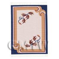 Dolls House Art Deco Medium Rectangular Carpet / Rug (admr05)