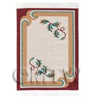 Dolls House Art Deco Small Rectangular Carpet / Rug (adsr05)