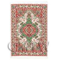 Dolls House Medium Tudor / Medieval Rectangular Carpet (TUNMR03)