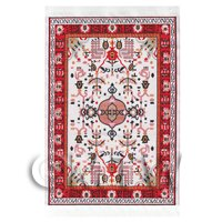 Dolls House Medium 17th Century Rectangular Carpet / Rug (17NMR05)