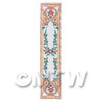 Dolls House Miniature 24cm Woven Turkish Hall Runner (TR001)