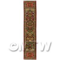Dolls House Miniature 24cm Woven Turkish Hall Runner (TR005)