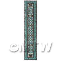 Dolls House Miniature 24cm Woven Turkish Hall Runner (TR017)