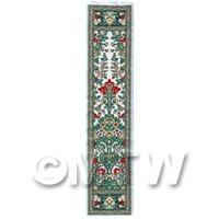 Dolls House Miniature 24cm Woven Turkish Hall Runner (TR018)