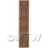 Dolls House Miniature 24cm Woven Turkish Hall Runner (TR021)