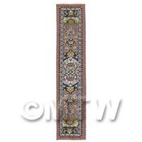 Dolls House Miniature 24cm Woven Turkish Hall Runner (TR026)