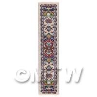 Dolls House Miniature 24cm Woven Turkish Hall Runner (TR030)