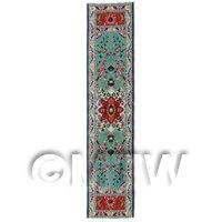 Dolls House Miniature 24cm Woven Turkish Hall Runner (TR033)