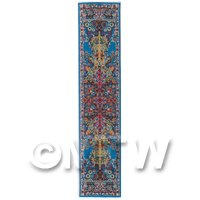 Dolls House Miniature 24cm Woven Turkish Hall Runner (TR068)