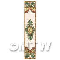 Dolls House Miniature 24cm Woven Turkish Hall Runner (TR070)