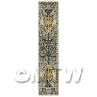 Dolls House Miniature 24cm Woven Turkish Hall Runner (TR073)