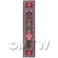 Dolls House Miniature 24cm Woven Turkish Hall Runner (TR077)