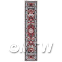 Dolls House Miniature 24cm Woven Turkish Hall Runner (TR083)