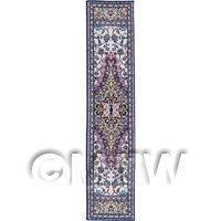 Dolls House Miniature 24cm Woven Turkish Hall Runner (TR101)