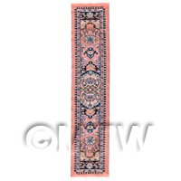 Dolls House Miniature 24cm Woven Turkish Hall Runner (TR105)